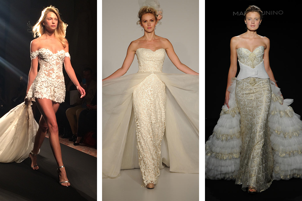 These Convertible Wedding Dresses Can Turn From A Long Gown Into Short Dress Pantsuit Or Sexier Fitted Mark Zunino And Sottero Midgley Did