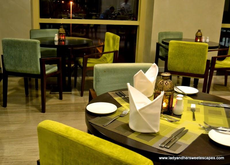 Metro restaurant at Millennium Plaza Hotel Dubai
