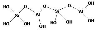 Struktur kerangka zeolit menurut nugroho 1998