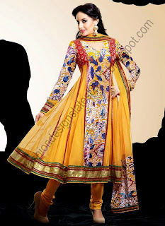 Indian-Anarkali-Dresses-2013-14