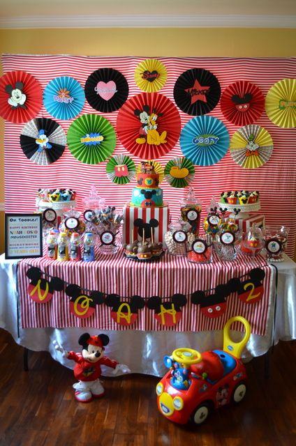 Ideas decoracion mickey mouse una mami creativa - Todo casa decoracion ...