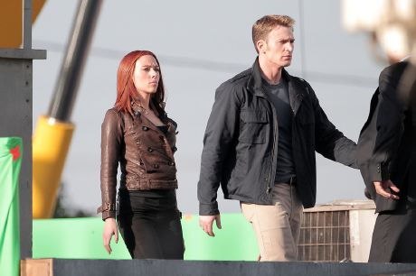 """Fotos del rodaje de  """"Capitán América: El Regreso del Primer Vengador"""