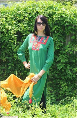 Latest Noorya Stylish Kurta For Girls 2012