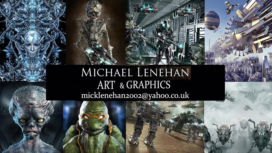 The Art Of Michael Lenehan