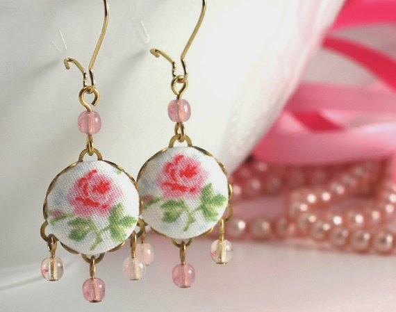 https://www.etsy.com/listing/189923825/shabby-chic-roses-earrings-pink-green