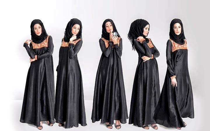 Abaya-Hijab Collection 2014 For Eid