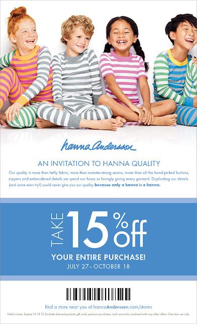 Hanna Andersson Printable Coupon