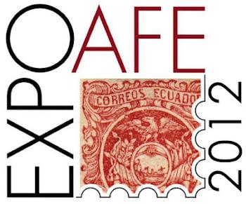 filatelia del ecuador expoafe 2012
