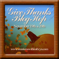 Give Thanks Blog Hop