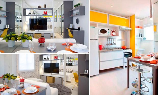 Conformax aquecedores coifas e cooktops sala de tv for Modelos de mini apartamentos