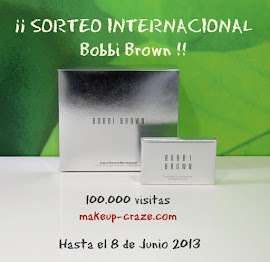 Sorteo Bobbi Brown 100.000 visitas