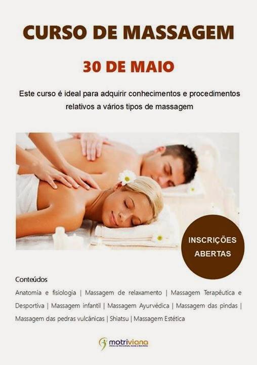 Curso de massagem em Viana do Castelo