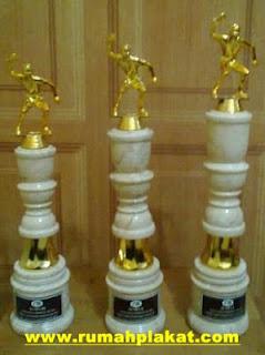 trophy marmer malang, harga piala trophy, harga piala plastik, 0856.4578.4363, www.rumahplakat.com