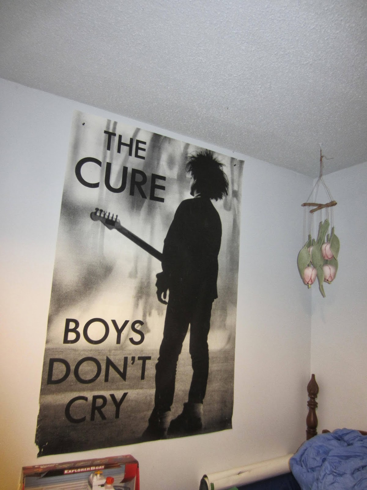 Giant Classic Boys Don't Cry Poster