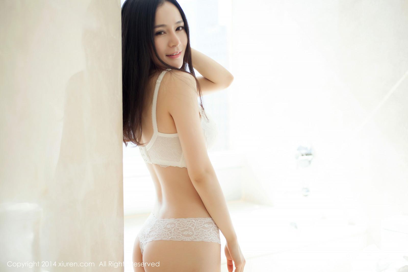 Ảnh gái đẹp HD Trắng thuần khiết cong tuyệt hảo 1