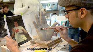 Infograph » The Making Of Andre The Giant Statue [Official Article]