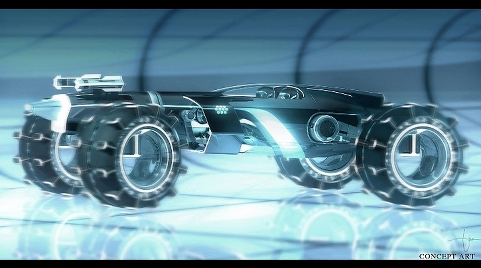 Sci Fi Vehicles Concept Art http://dsngsfm.blogspot.com/2011/08/more-concept-vehicles-cars-motorcycles.html