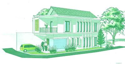 Prespektif : Desain Rumah Untuk Lahan Tidak Beraturan