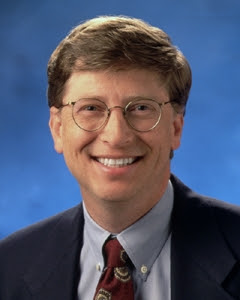 rich men: bill gates