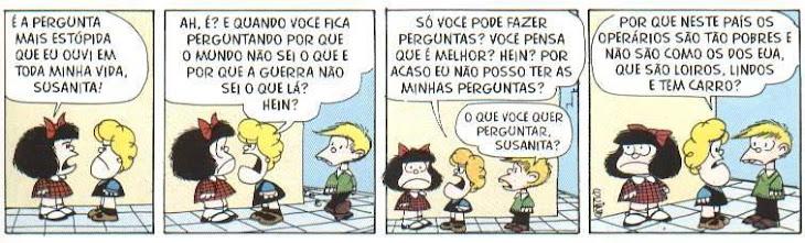 Pensando com a Mafalda