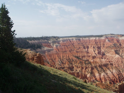 View from an outlook point of Cedar Breaks