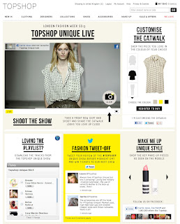 London Fashion Week: Topshop Partners with Facebook for an Interactive, Social Shopping Experience