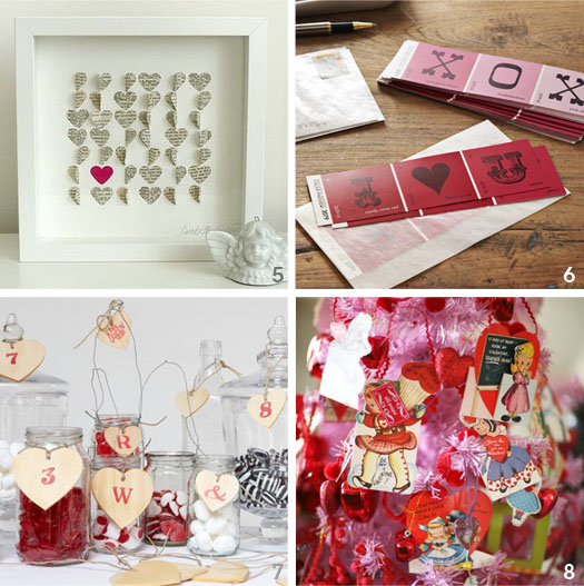 very merry vintage syle vintage valentine craft inspiration