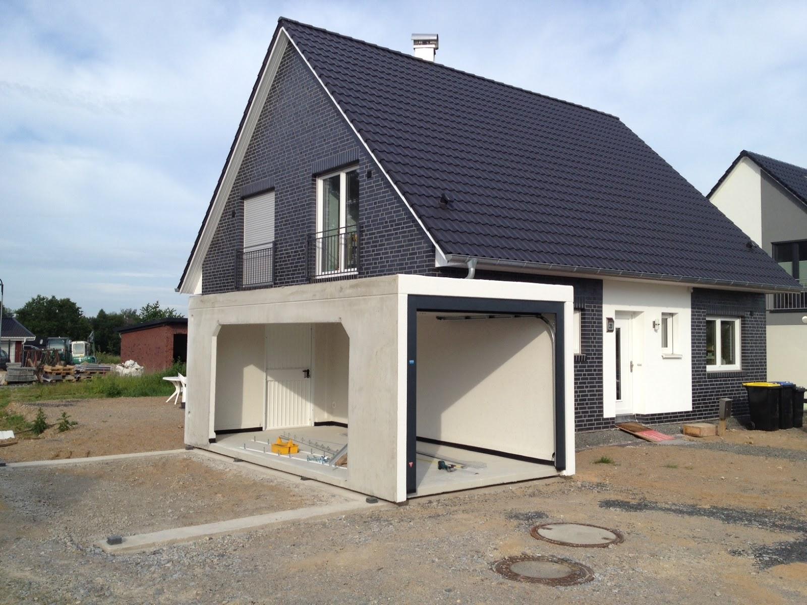 Unser neues heim die doppel garage ist da