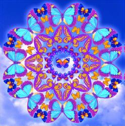 Mandala Mariposas