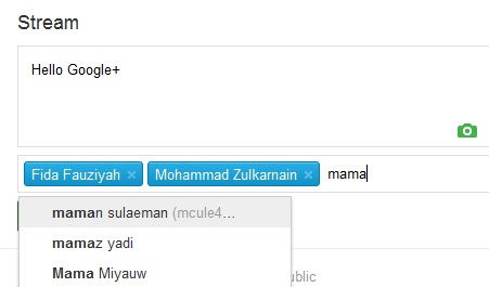 How to Update Status Google Plus