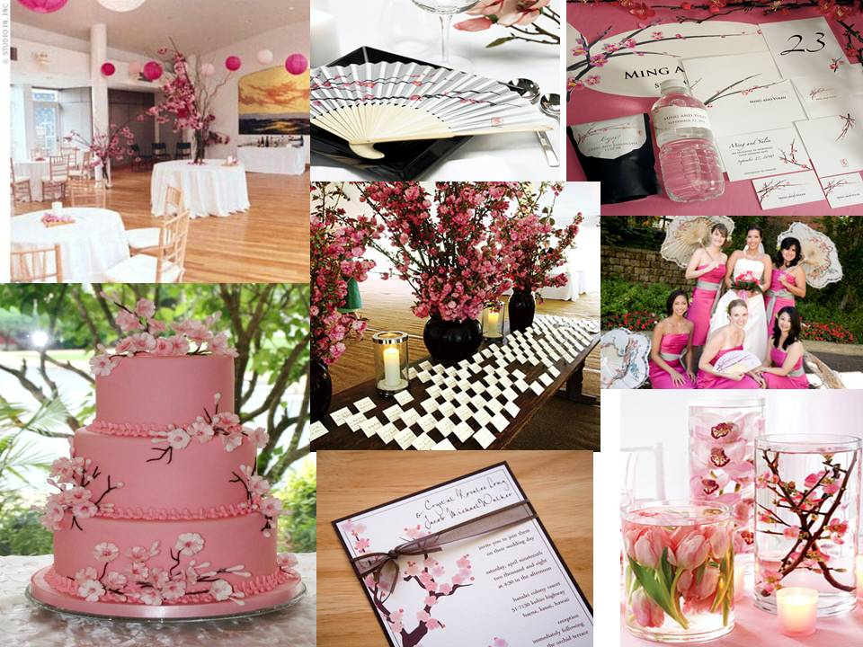 Unique wedding ideas cherry blossom wedding theme cherry blossom wedding theme junglespirit Images