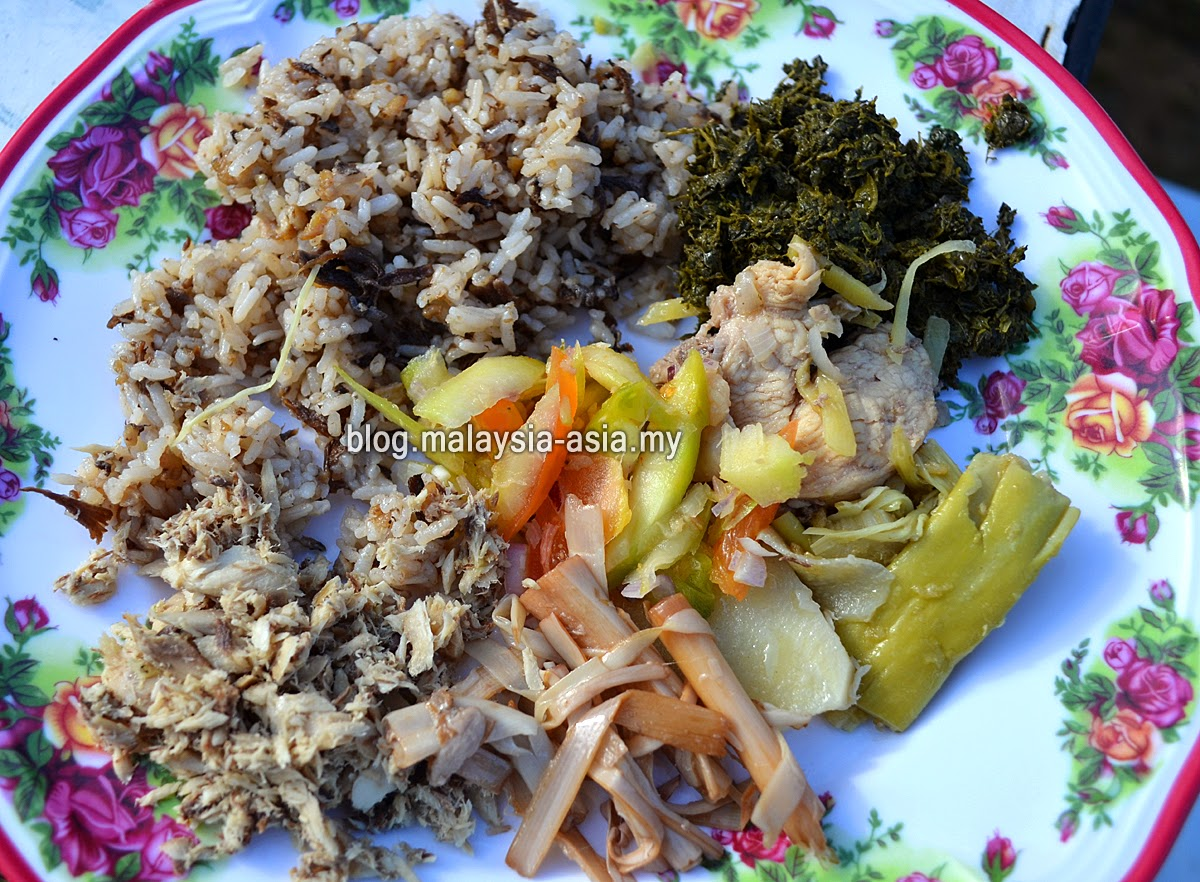 Kelabit Food Photo