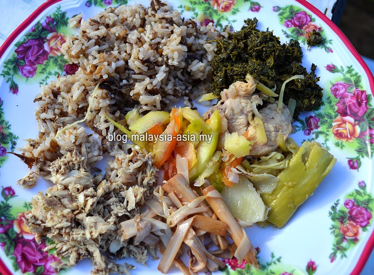 Kelabit Food Photo