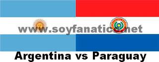 Argentina vs Paraguay por la Copa América 2015