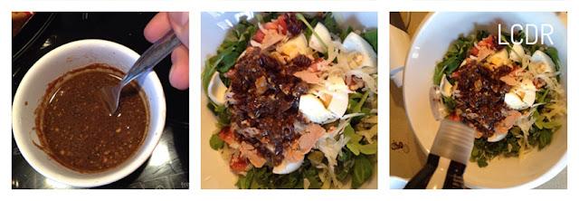 Receta de ensalada de foie y parmesano 04