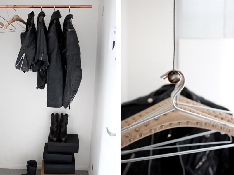 Fin form DIY klädhängare