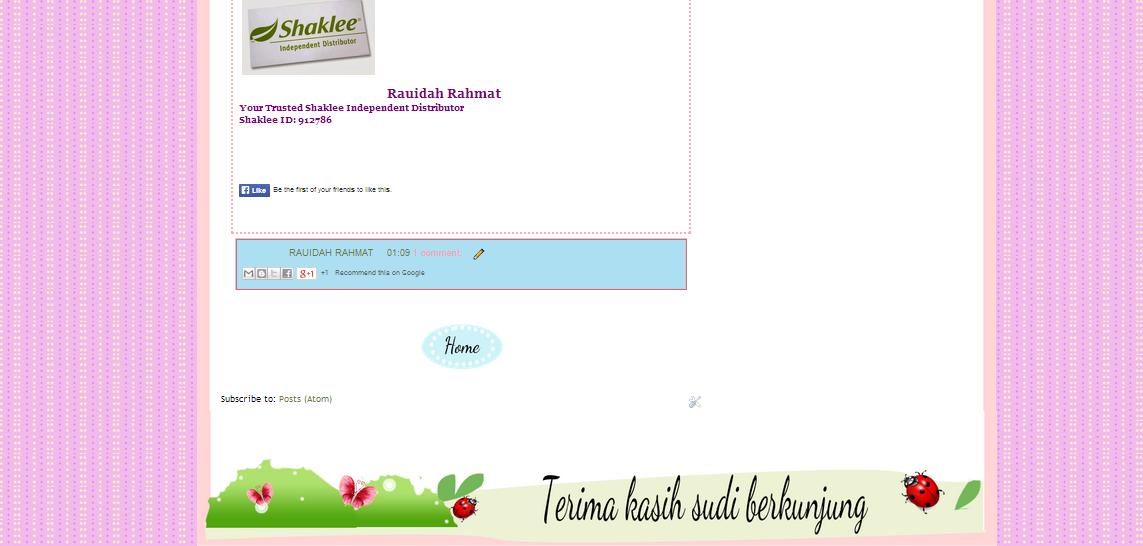 tempahan edit blog,murah,comel,kartun