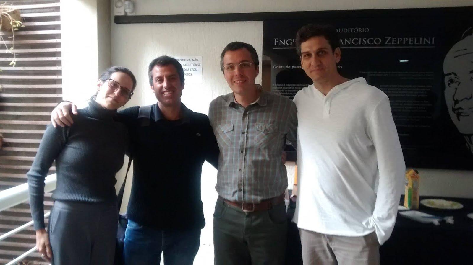 Roberto Miguel, Cris, Leo e Rodrigo Yacubian