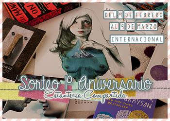 http://estanteriacompartida.blogspot.com.es/2015/02/sorteo-1-aniversario.html