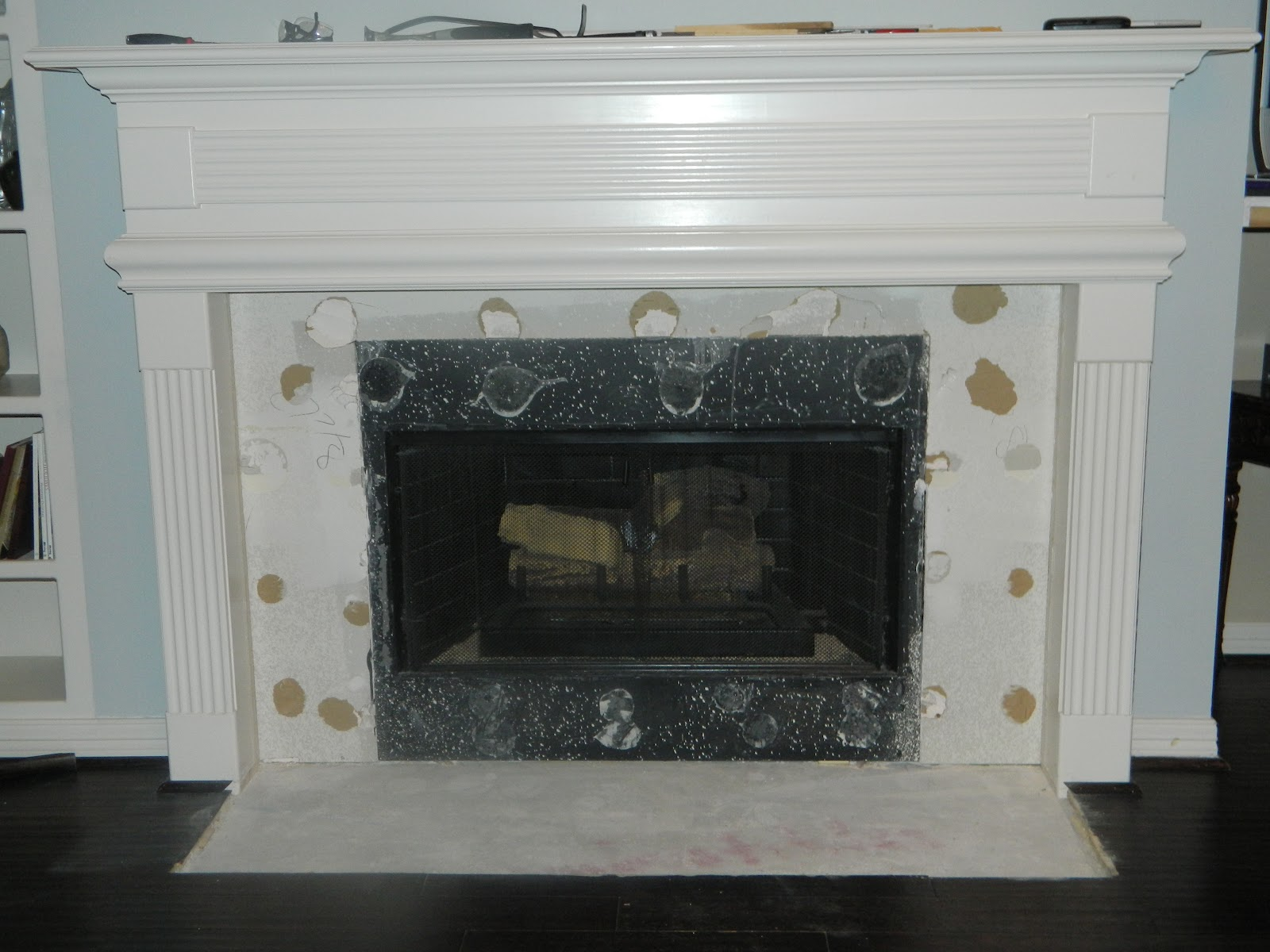 Granite Fireplace Hearth Ideas 1600 x 1200