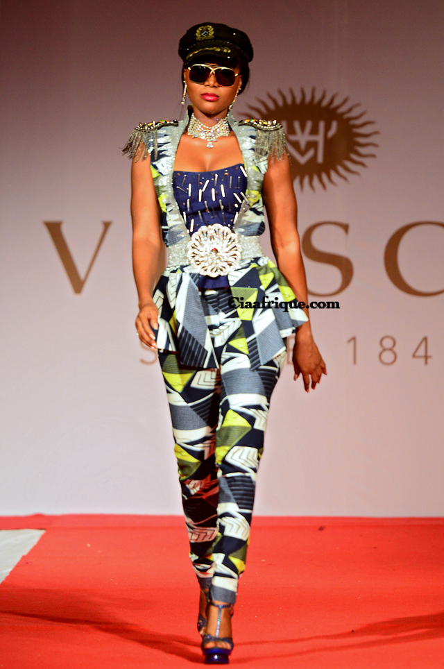 Vlisco Fashion Show Cotonou 2012: Grace wallace