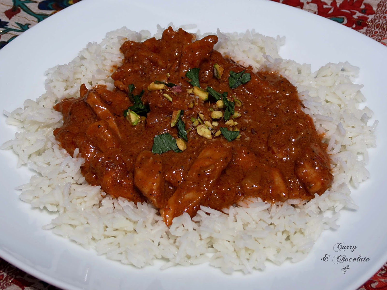 Pollo Tikka Masala - Chicken Tikka Masala
