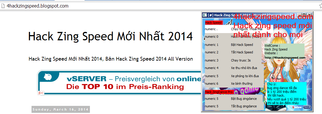 hack zing speed 2014