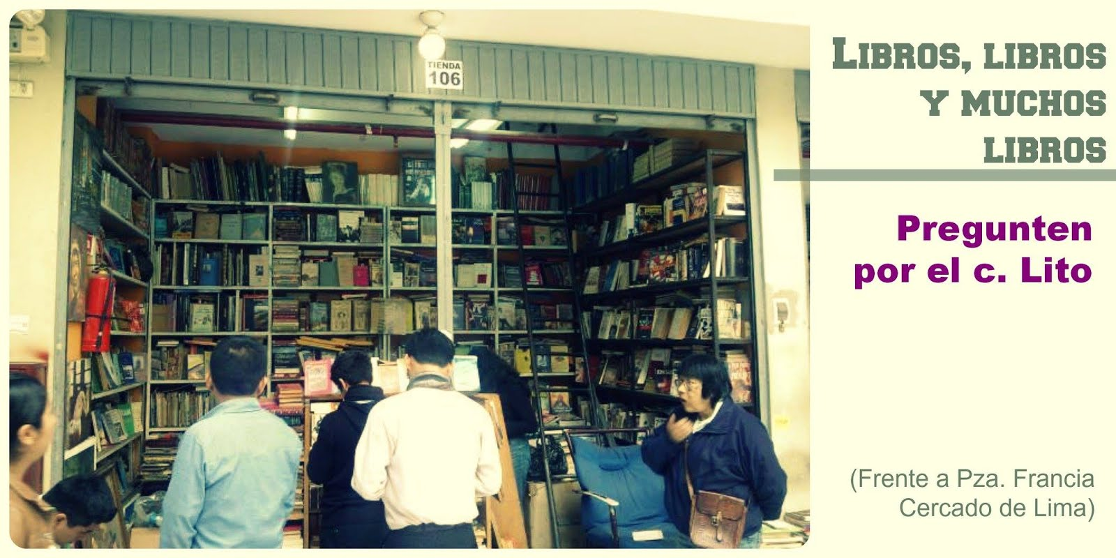 c. Lito = libros y buen precio