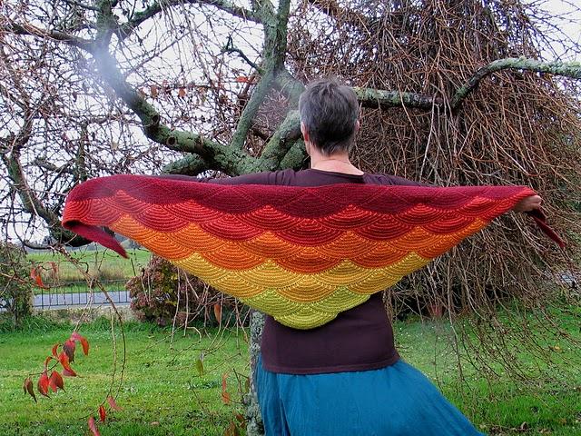 tricot-châle-aranami