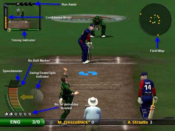 free online play cricket games 2007