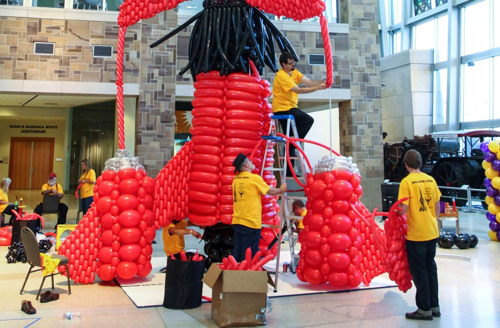 Thunderbirds 3 Recreated in Balloons to Celebrate the Show's 50th Anniversary