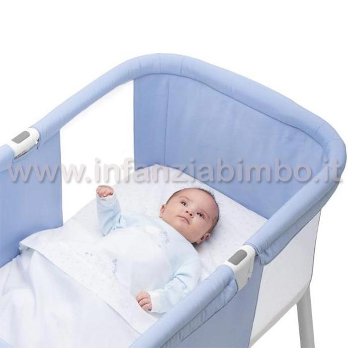 Culla pieghevole chicco lullago azzurra infanzia bimbo blog for Culla azzurra