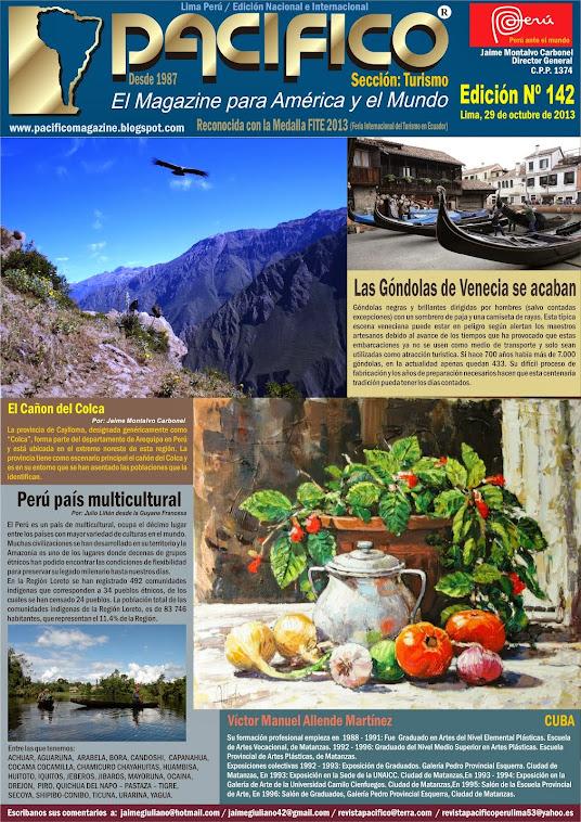 Revista Pacífico Nº 142 Turismo