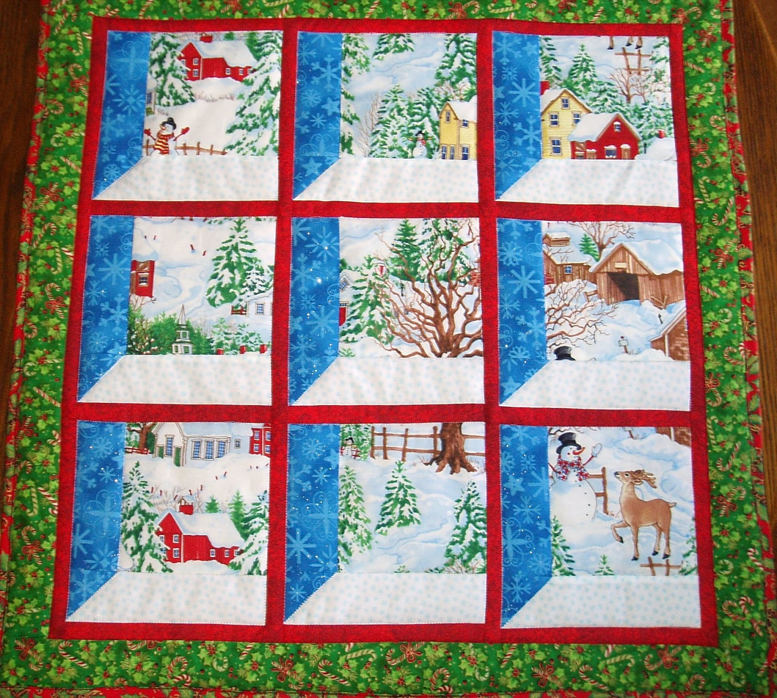 wall quilt designs with Christmas on How to make awesome thermal curtains in addition Pieintheskyquilts additionally 9834c3009faafabb also Free Standing Lace Machine Embroidery Designs furthermore Quilt As You Go With Wide Sashing Tutorial.